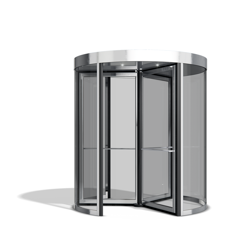 ASSA ABLOY RD100 Power assist revolving door from ASSA ABLOY